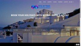 Site Hotel, Resort, Pousada - Responsivo - Php - Script 4.2