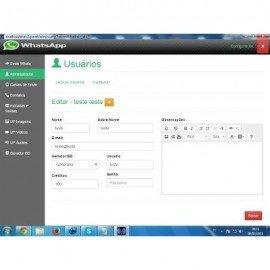 Script Php Sistema Whatsapp Marketing